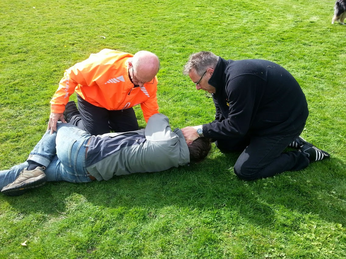 Dave and Brent gain a boost to First Aid capabilities